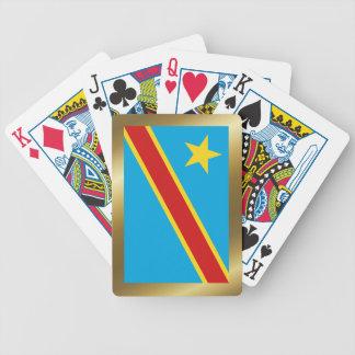 Congo-Kinshasa Flag Playing Cards