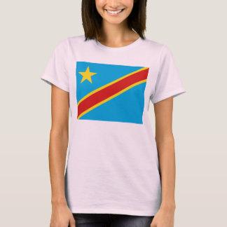 Congo-Kinshasa Flag x Map T-Shirt