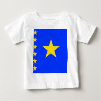 Congo Kinshasa High quality Flag Tee Shirt
