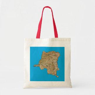 Congo-Kinshasa Map Bag