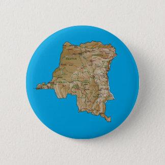 Congo-Kinshasa Map Button