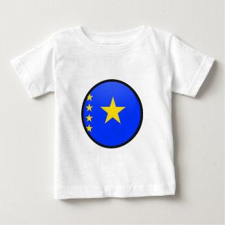 Congo Kinshasa quality Flag Circle T-shirts