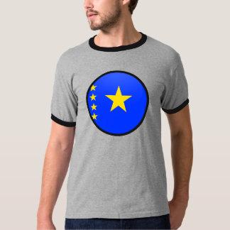 Congo Kinshasa quality Flag Circle T Shirts