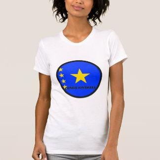 Congo Kinshasa Roundel quality Flag Shirts