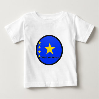 Congo Kinshasa Roundel quality Flag T Shirts