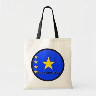 Congo Kinshasa Roundel quality Flag Bag