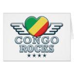 Congo Rocks v2 Greeting Card