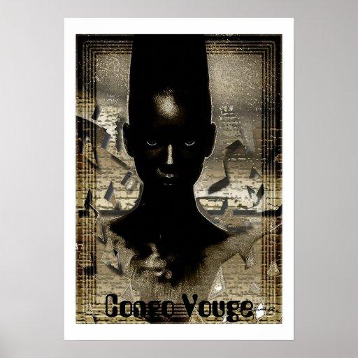 Congo Vouge Print