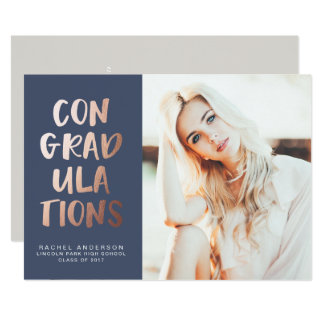 ConGRADulation CLASS OF 2017 Graduation Invitation