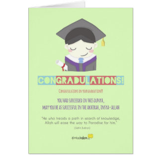 Congradulations! (Male) Card
