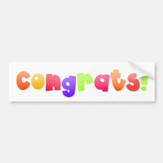 Congrats 2 - sticker