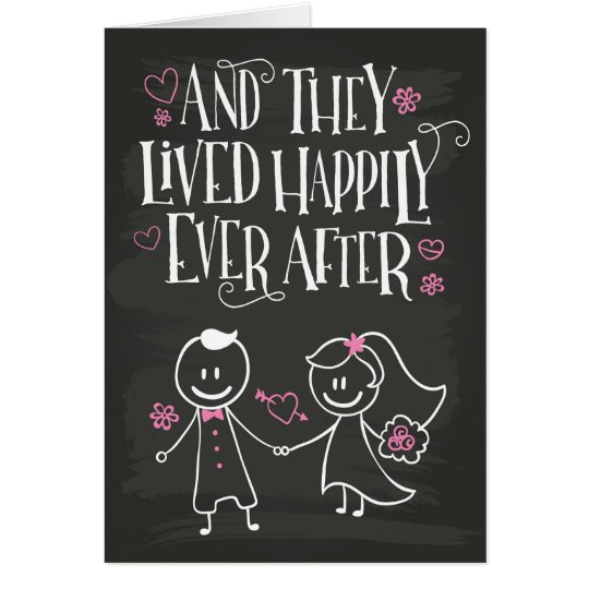 Congrats, And They Lived Happily Ever After Card