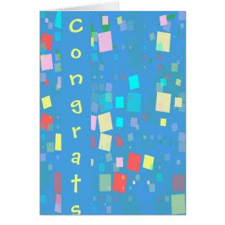 Congrats! Cards