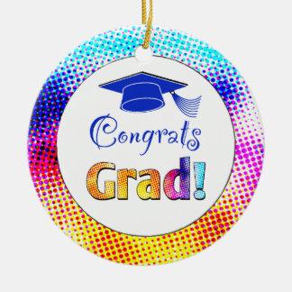 Congrats Grad Colors, Fun Christmas Ornament