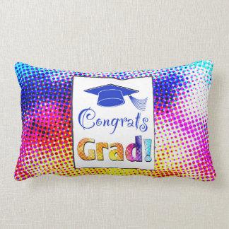 Congrats Grad Colors, Fun Lumbar Pillow
