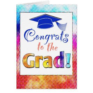 Congrats Grad Greeting Card
