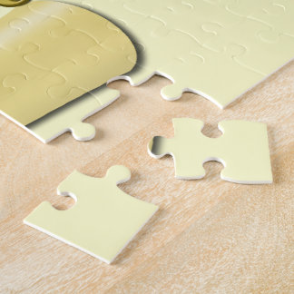 Congrats Graduate Diploma and Graduation hat Jigsaw Puzzle