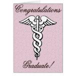 Congrats, Graduate, Medical Field Card