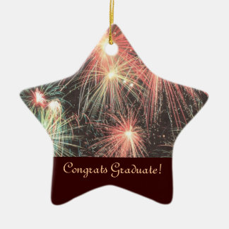 Congrats Graduate Star Ornament