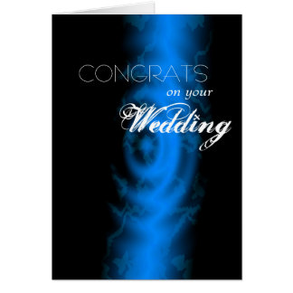 Congrats on your Wedding Card