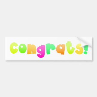 Congrats - sticker