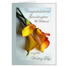 Congrats to Granddaughter & Husband on Wedding Card