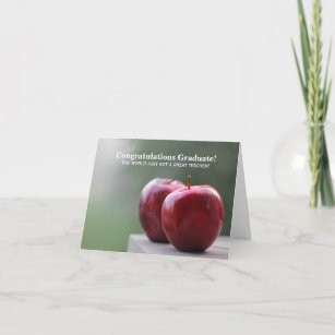Congrats to the New Teacher Graduate (card) Card