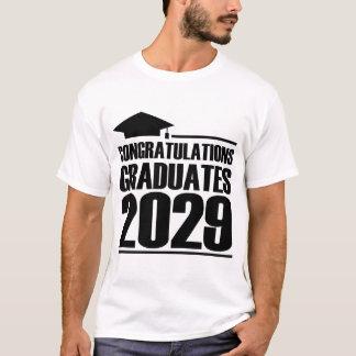 CONGRATULATION GRADUATES 2029 T-Shirt