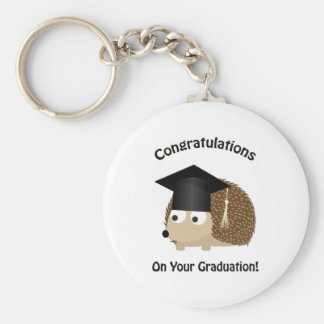 Congratulation on Your Graduation Hedgehog Key Ring