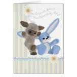 Congratulations Baby Boy Card, New Baby Greeting Card