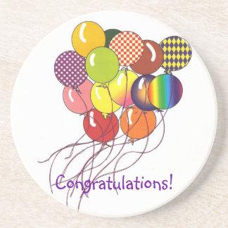 Congratulations Balloon Coaster