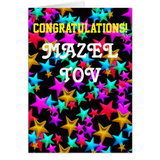 Congratulations Bar Bat Mitzvah Card
