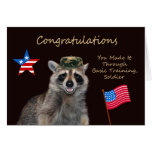 Congratulations, Basic Training Greeting Card