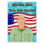 Congratulations Basic Training Paper Greeting Card
