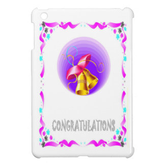 congratulations, bells iPad mini cover