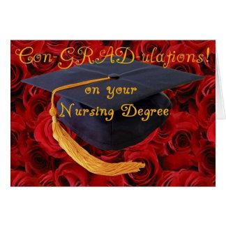 Congratulations BScN- Nursing Degree Cards