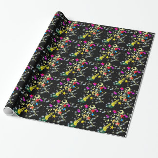 Congratulations champagne wrapping paper