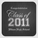 Congratulations Class of 2011 Stickers (silver)