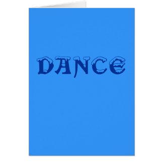 Congratulations - Dance Exam Card