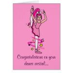 Congratulations Dance Recital Greeting Card