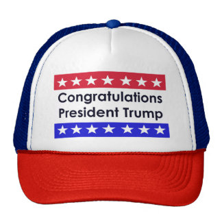 Congratulations Donald Trump Cap