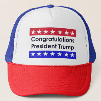 Congratulations Donald Trump Trucker Hat