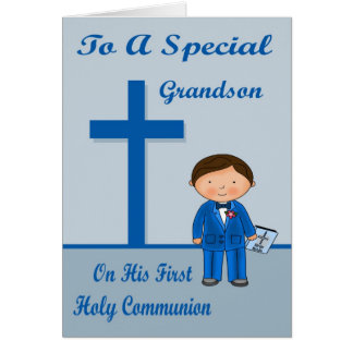 Congratulations First Communion Greeting Card