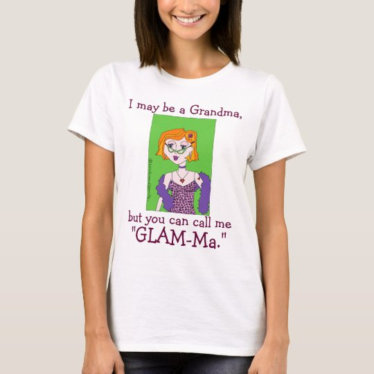 Congratulations Gift for GLAM-Ma Glamourous T-Shirt