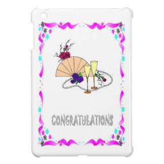congratulations, glasses, fans iPad mini covers