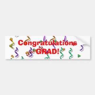 Congratulations Grad Bumper Sticker