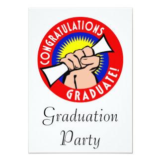 Congratulations Graduate 13 Cm X 18 Cm Invitation Card