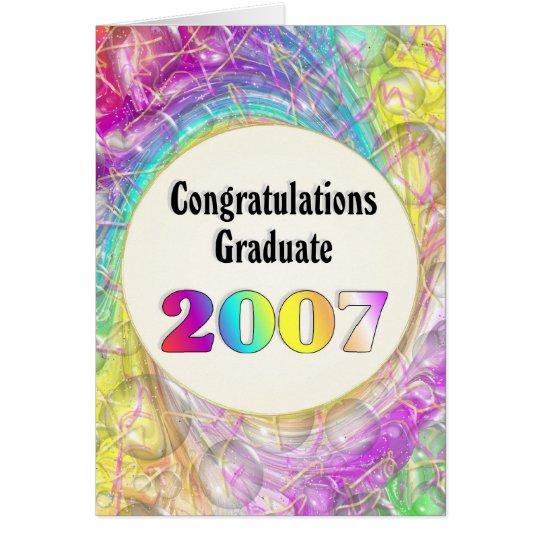Congratulations Graduate 2007 Card