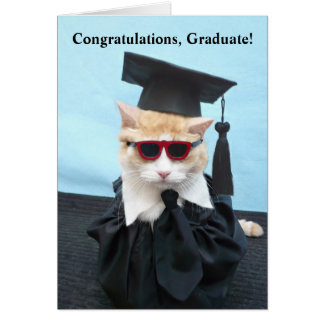 Congratulations Graduate! Greeting Card