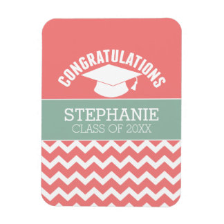 Congratulations Graduate - Personalized Graduation Magnet